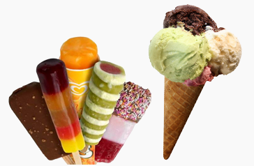 Delicious Ice Cream and Lollies
